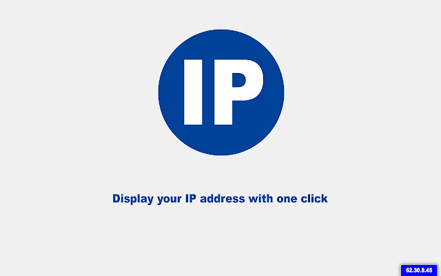 Display IP Address Plugin