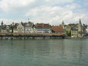 Photo: Lucerna - średniowieczny Most Kapliczny