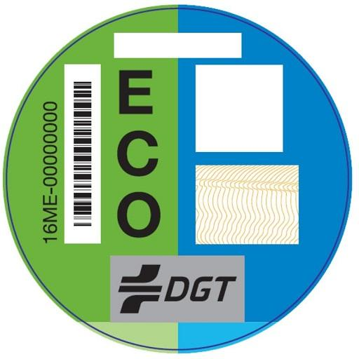 Distintivo Ambiental DGT icon