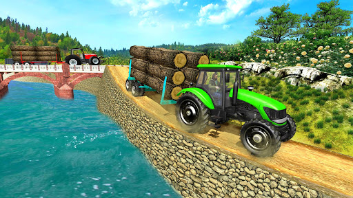 Real Tractor Trolley Cargo Farming Simulation Game 1.0 screenshots 1