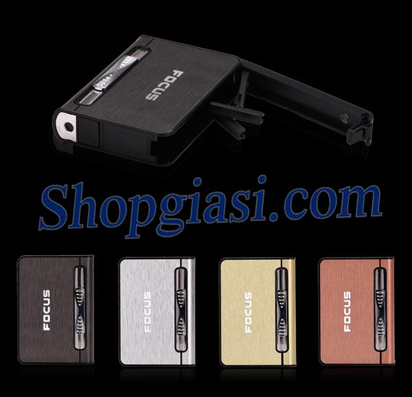hộp thuốc lá đa năng focus,bật lửa độc đáo,bật lửa giá sĩ,shopgiasi.com