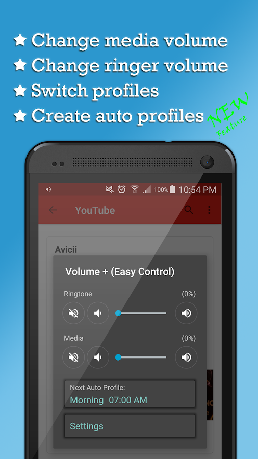 Volume + (Easy Control)- screenshot