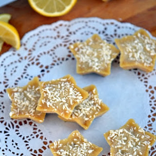 Lemon-Coconut Fudge Bites