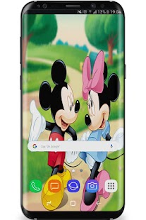 Wallpaper Micky Mouse' HD+ - náhled