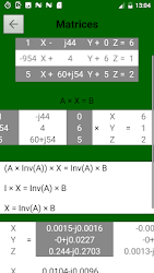 Download Matrix Calculator - Gaussian - Cramer - PRO APK App ... on