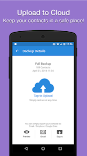 Contacts Backup & Restore by Simpler - náhled