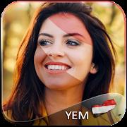 Yemen Flag Face Paint icon