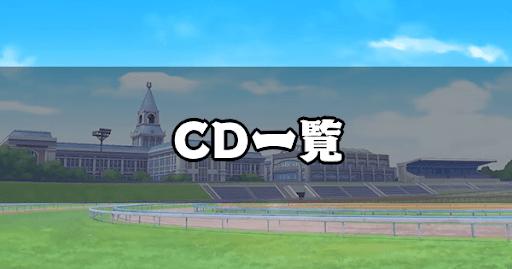 ウマ娘_CDと収録曲の一覧と試聴のやり方