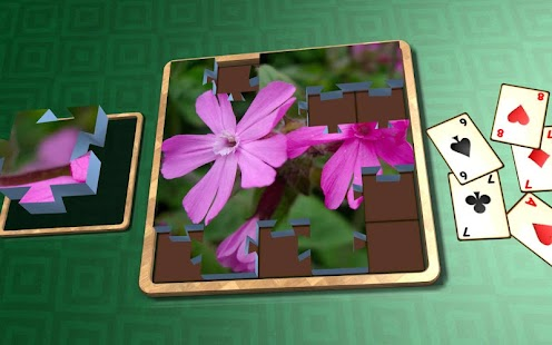 Jigsaw Solitaire - Plants- screenshot thumbnail