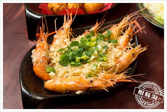 墾丁蝦匠活蝦料理蒜味蝦