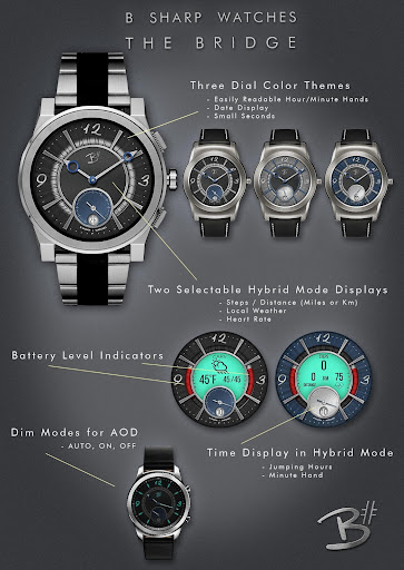 Download The Bridge - Luxury face for smart watches MOD APK 2