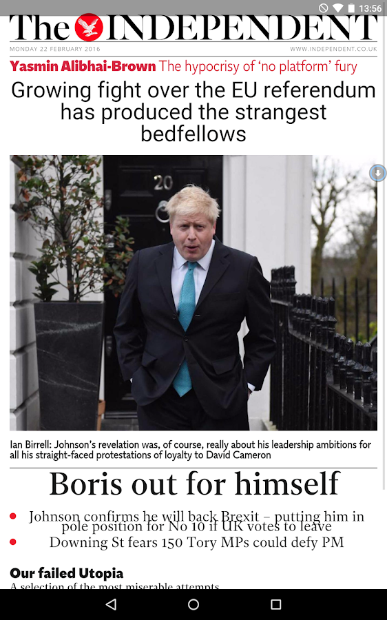 The Independent Daily Edition- screenshot