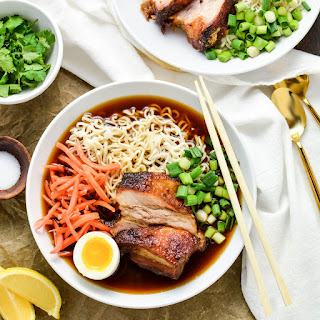 Beer-Braised Pork Belly Ramen