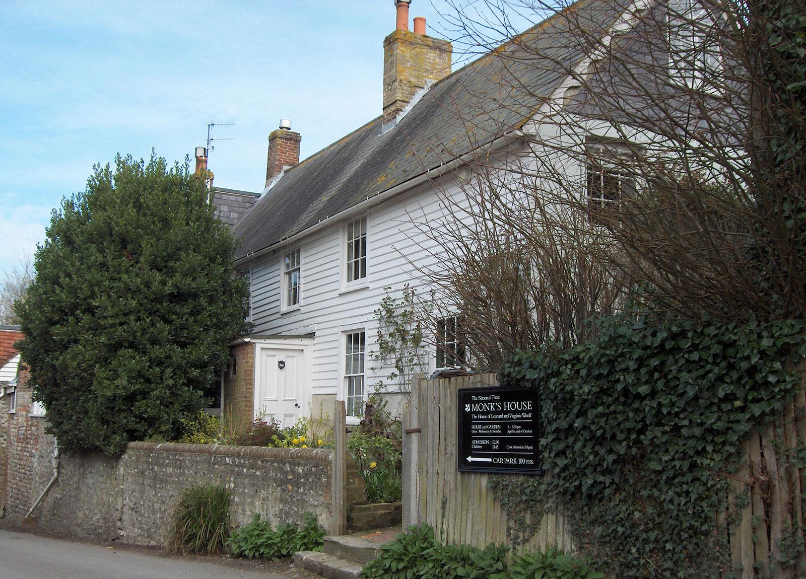 Antiga casa da escritora Virginia Woolf, Monk's House