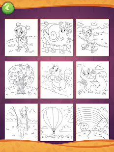 Coloring Book for Creative Kids Screenshot