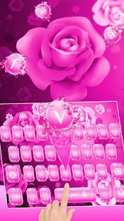 Pink Love Rose Theme - náhled