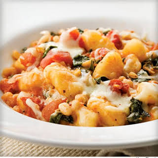 Skillet Gnocchi With Chard and White Beans.