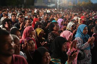Photo: MDP Insaafuge' Dhathuru 15/02/2012. Photo/Mauroof Khaleel