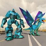 Dragon Robot Transform Game – Mech Robots Battle Icon