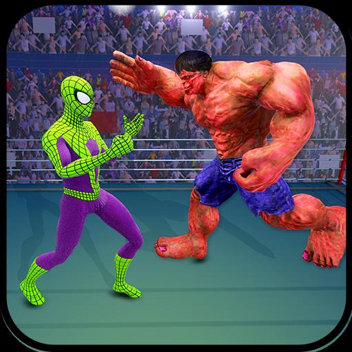Future Ring Battle: Spider VS Monster VS Robot