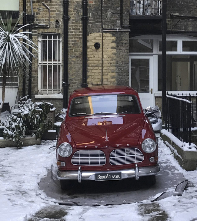 Volvo Amazon 122 Hire London