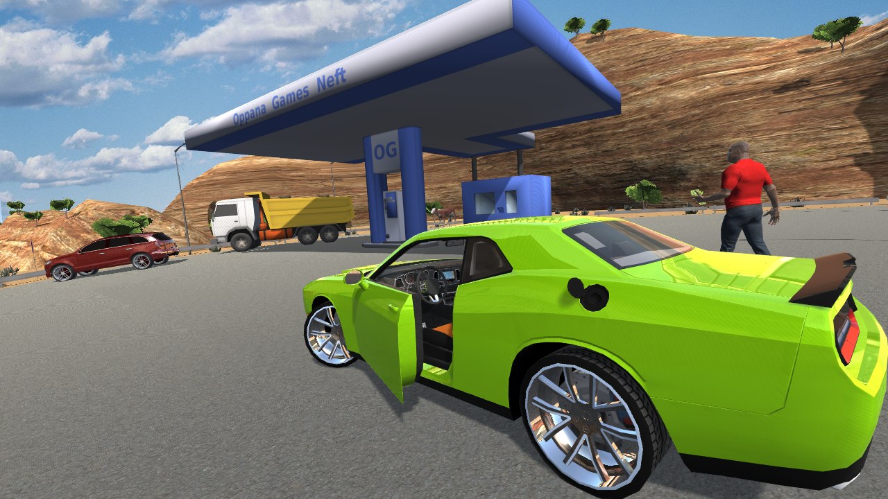 muscle car challenger screenshot