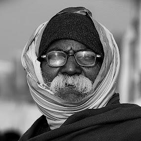Vintage vision. by Debasish Naskar - People Portraits of Men ( old, sagar, vision, vintage, black )