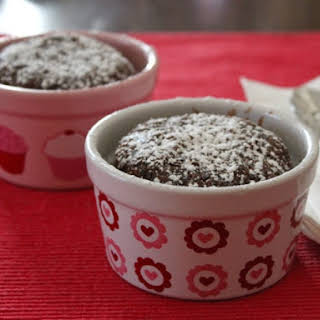 Gluten-Free Chocolate Cake for Two.