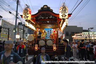 Photo: 【平成19年(2007) 宵宮】 祭典本部前。本年の宵宮も大盛況でした。