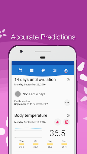Period Tracker Bloom, Menstrual Cycle Tracker Apk 2