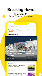 TopBuzz Lite: Breaking News, Funny Videos & More Screenshot