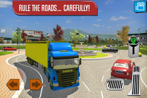 Delivery Truck Driver Simulator  screenshots 4