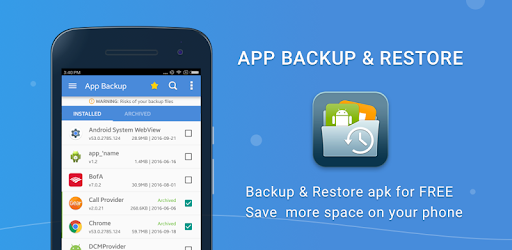 apk backup and restore pro