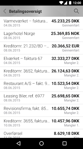 Mobilbank Erhverv screenshot 5