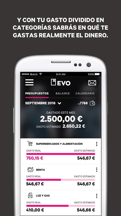 EVO Banco móvil- screenshot