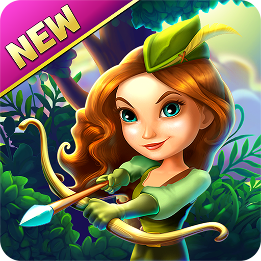 Robin Hood Legends – A Merge 3 Puzzle Game Icon