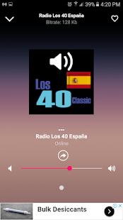 Radio Los 40 Classic FM, España - Todos Los Éxitos - náhled