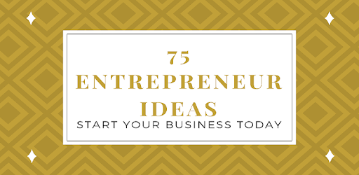 75 Business Ideas is a new app that offers you the latest and best start-up plan