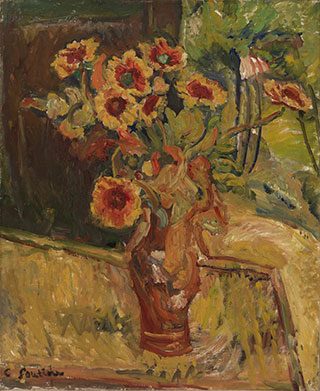 Хаим Сутин. Букет цветов.