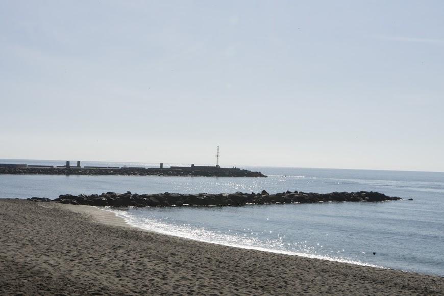Desde el Paseo Marítimo se pueden tomar imágenes tan bonitas como esta.