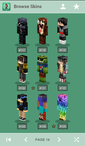 Skins for Minecraft PE 1.3 screenshots 1