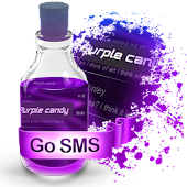 Purple candy S.M.S. Theme