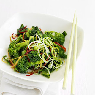 Broccoli and Chili Stir-Fry