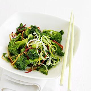 Broccoli and Chili Stir-Fry.