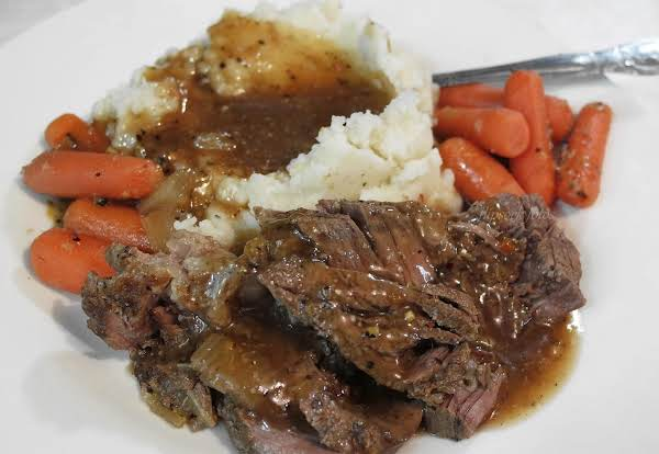 Pot Roast Electric Skillet Style Recipe Just A Pinch Recipes