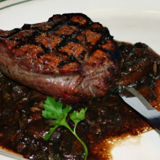 Filet Mignon with Mushrooms Recipe