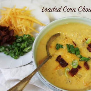 Loaded Corn Chowder.