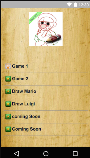 Draw Super Mario Character