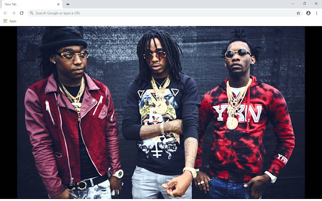 Migos New Tab & Wallpapers Collection