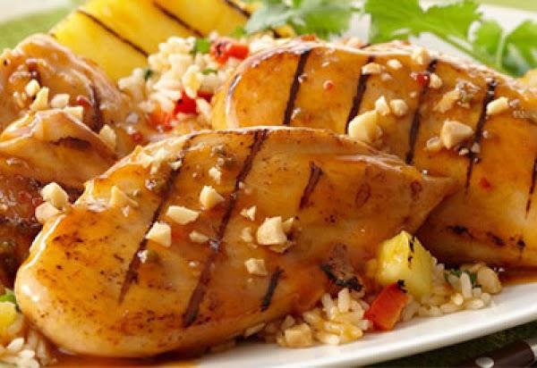 Grilled Hawaiian Pineapple Chicken Recipe